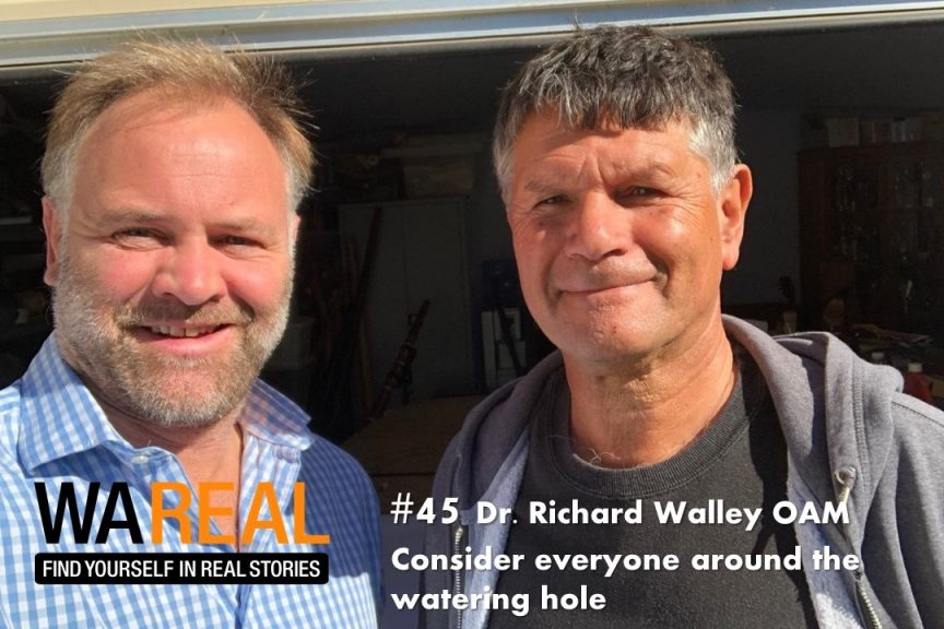 Episode 45 - Dr Richard Walley