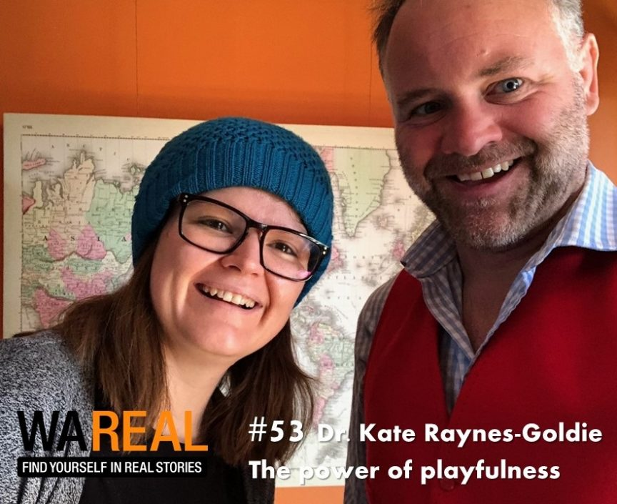 Episode 53 - Dr. Kate Raynes-Goldie